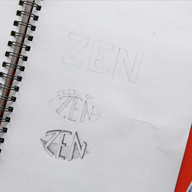 zen pencil drawing